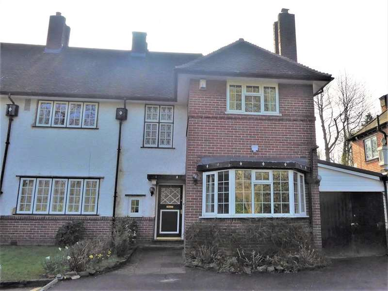 3 Bedrooms Semi Detached House for rent in Russell Road, Moseley , Birmingham, B13 8RA
