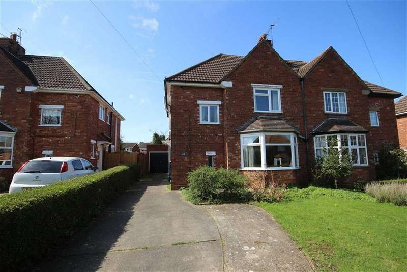 3 Bedrooms Semi Detached House for sale in Byron Avenue, Lincoln, Lincolnshire