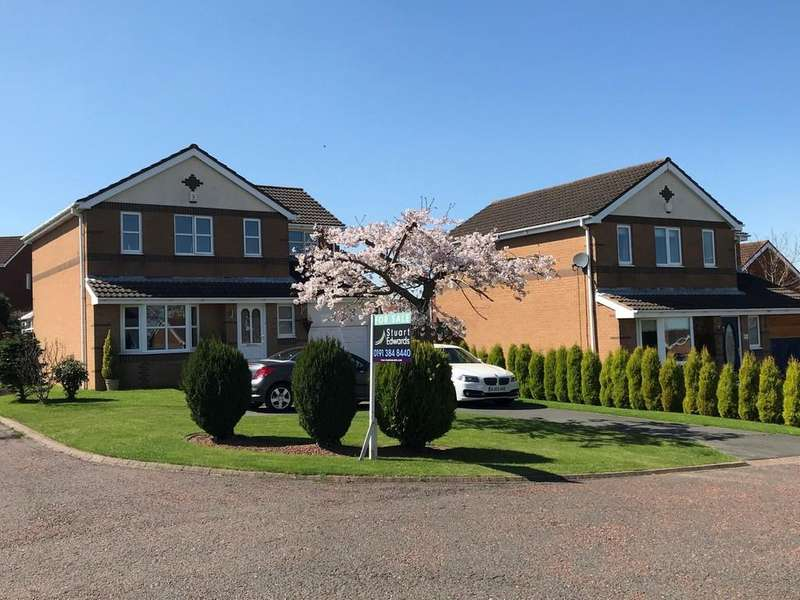 4 Bedrooms Detached House for sale in Redhouse Close, Sacriston