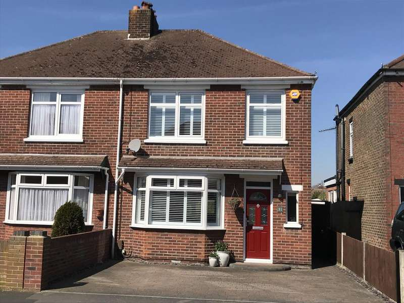 3 Bedrooms Semi Detached House for sale in Fisgard Road, Hardway, Gosport PO12