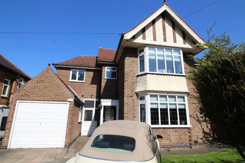 3 Bedrooms Detached House for sale in Leicester Road, Loughborough