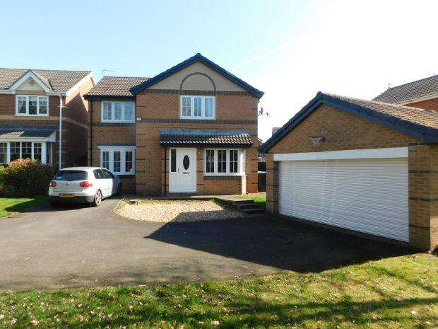 4 Bedrooms Detached House for sale in ANGUS SQUARE, LANGLEY MOOR, DURHAM CITY : VILLAGES WEST OF