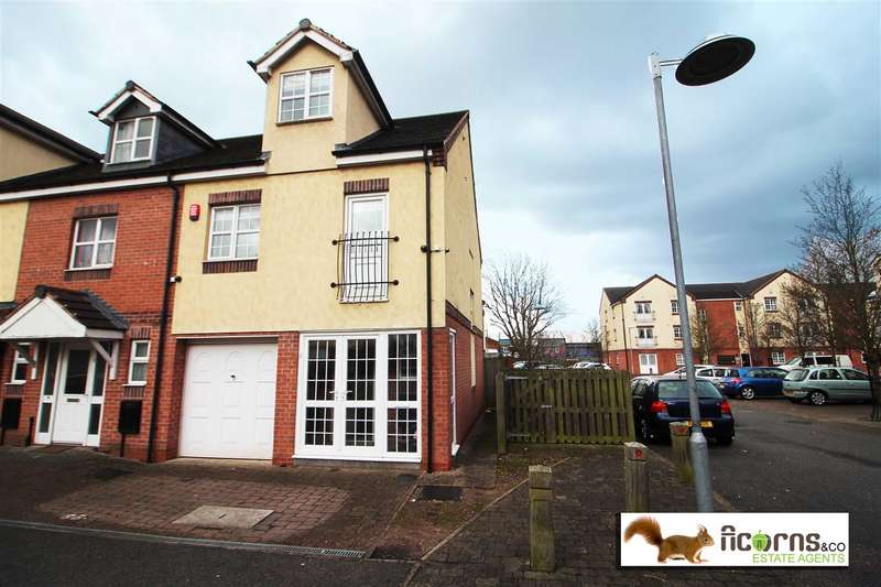 3 Bedrooms End Of Terrace House for sale in Manor House Close, Walsall
