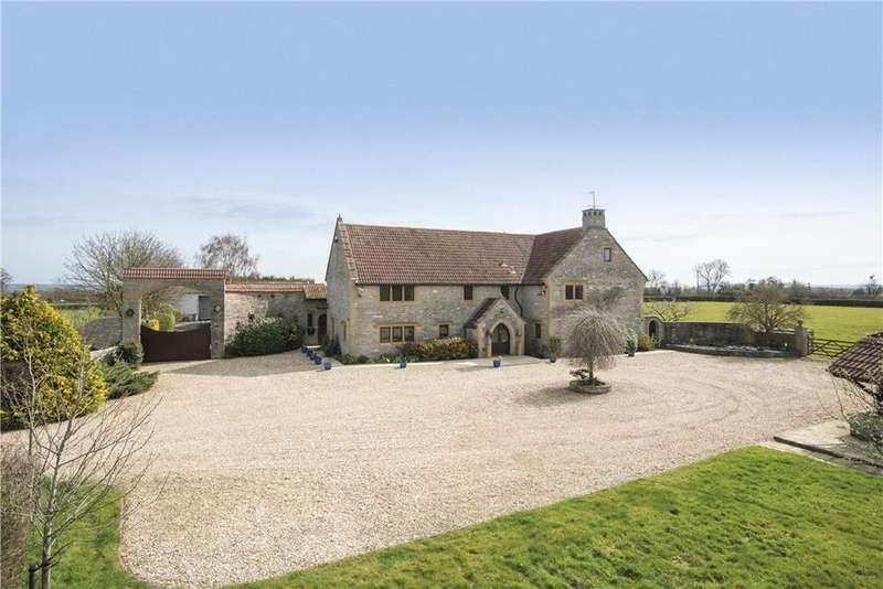 6 Bedrooms Detached House for sale in Croftland Lane, Drayton, Langport, Somerset, TA10