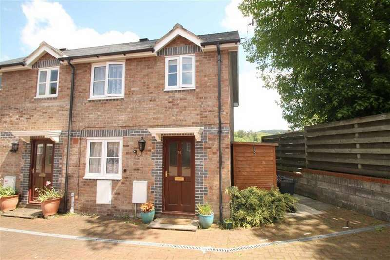 3 Bedrooms End Of Terrace House for sale in Green Square, Llanfyllin