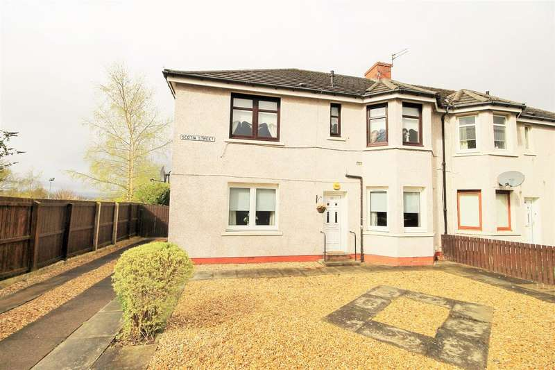 2 Bedrooms Flat for sale in Scotia Street, Motherwell