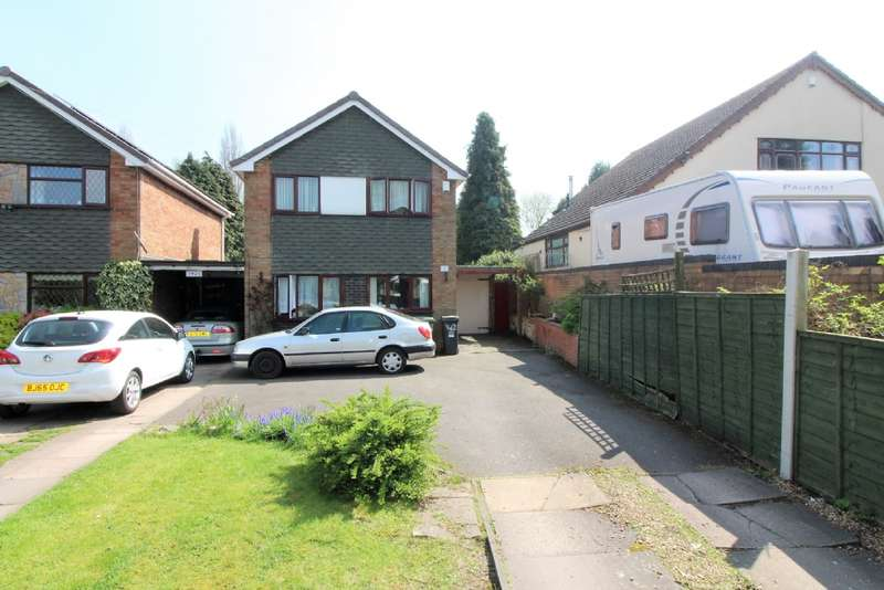 3 Bedrooms Detached House for sale in Lichfield Road, Willenhall