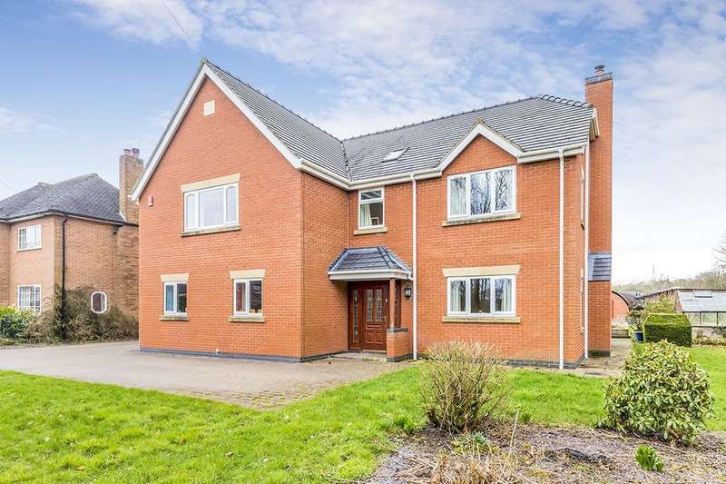 6 Bedrooms Detached House for sale in Old Road, Barlaston, Stoke-On-Trent, ST12
