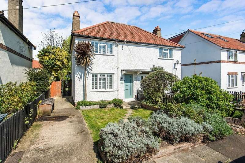 2 Bedrooms Semi Detached House for sale in Gostling Road, Whitton, Twickenham, TW2