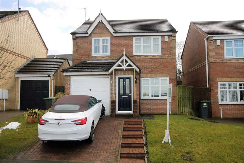 3 Bedrooms Detached House for sale in Braemar Court, Blackhill, Consett, DH8