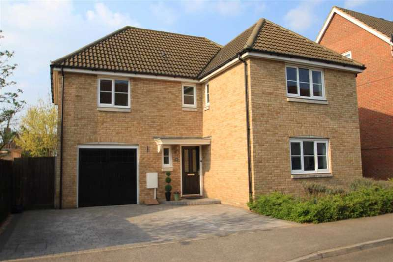4 Bedrooms Detached House for sale in Thomas Crescent, Grange Farm, Kesgrave, Ipswich
