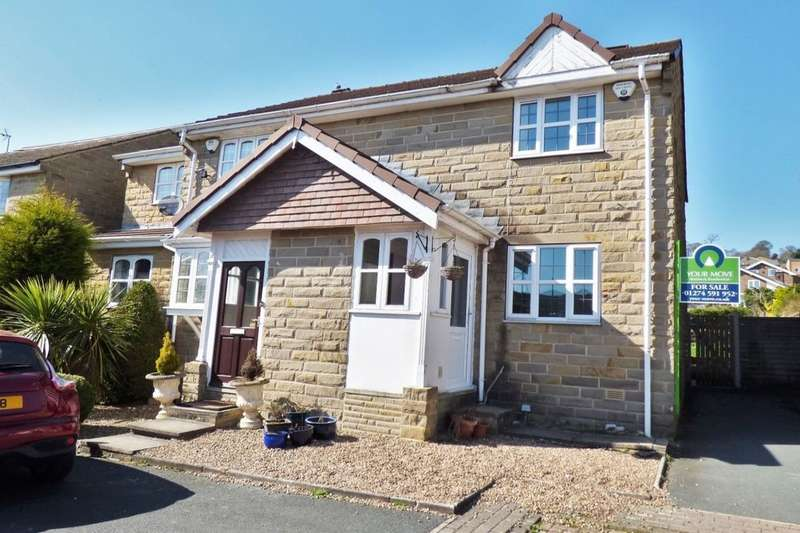 2 Bedrooms Semi Detached House for sale in Kilnsey Mews West Lane, Baildon, Shipley, BD17