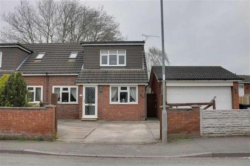 3 Bedrooms Semi Detached Bungalow for sale in Stoneley Road, Crewe