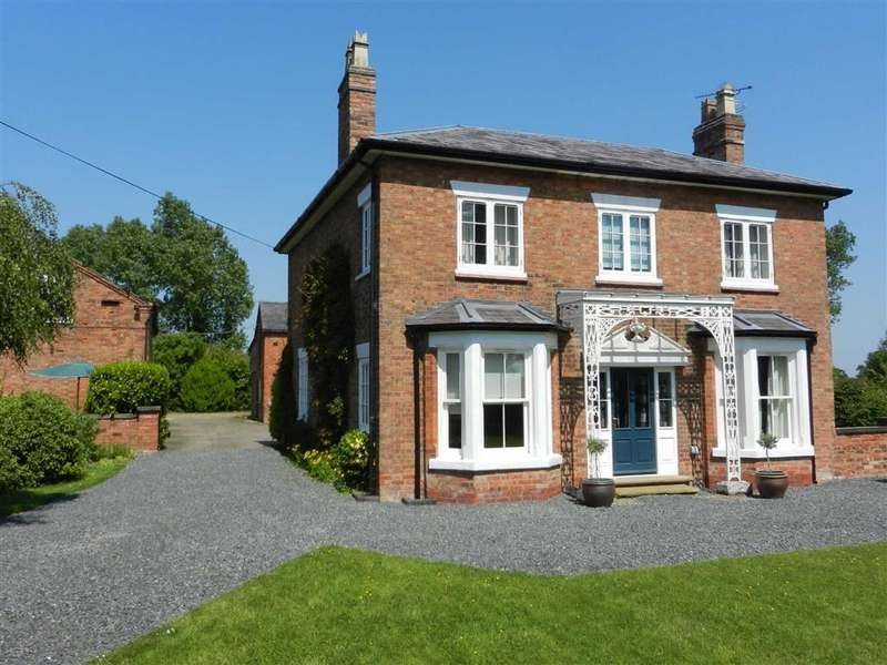 4 Bedrooms Detached House for sale in Back Coole Lane, Nantwich, Cheshire