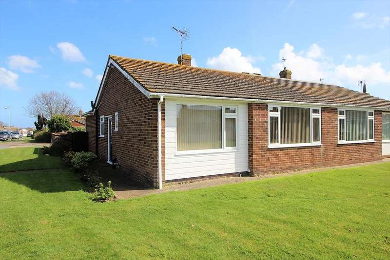 2 Bedrooms Semi Detached Bungalow for sale in Castle View Gardens, Westham