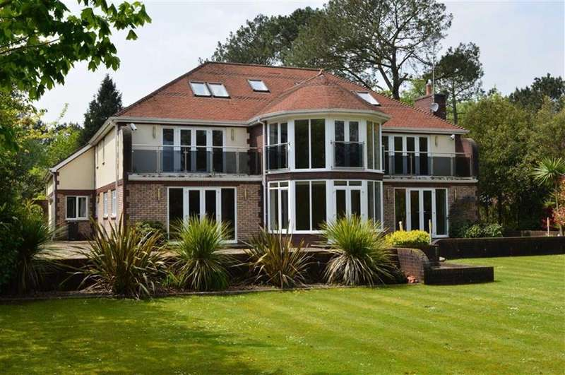 6 Bedrooms Detached House for sale in Corfe Lodge Road, Broadstone, Dorset