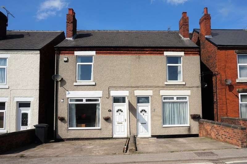 2 Bedrooms Semi Detached House for sale in Williamthorpe Road, North Wingfield, Chesterfield