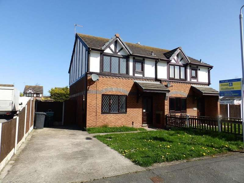 3 Bedrooms Semi Detached House for sale in Denbigh Circle, Kinmel Bay