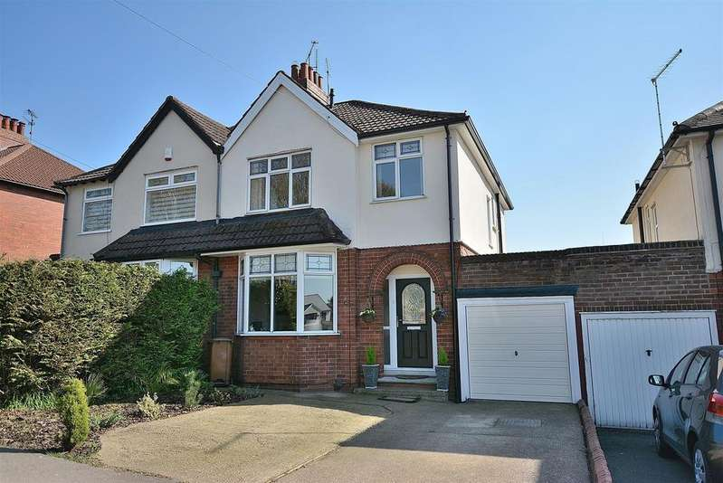 3 Bedrooms Semi Detached House for sale in Berry Hill Lane, Mansfield