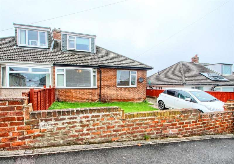 3 Bedrooms Semi Detached Bungalow for sale in Humewood Grove, Norton