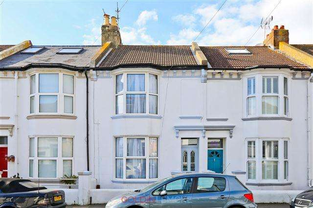 2 Bedrooms Terraced House for sale in Belfast Street, Hove