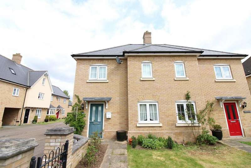 3 Bedrooms Semi Detached House for sale in Heronslee, Shefford, SG17