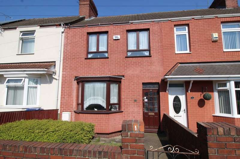 3 Bedrooms Terraced House for sale in Owston Road, Carcroft, Doncaster, DN6