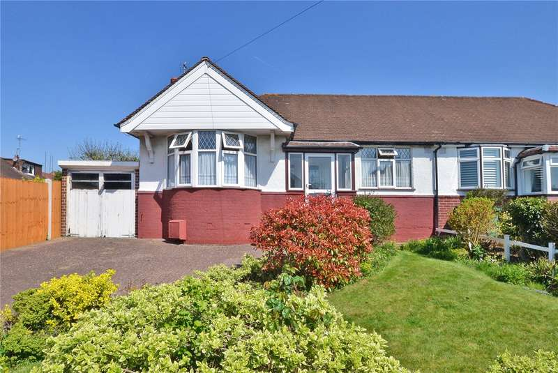 2 Bedrooms Semi Detached Bungalow for sale in Firswood Avenue, Epsom, Surrey, KT19