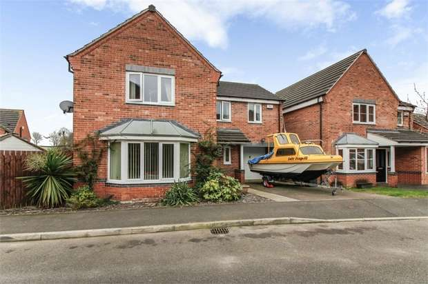 4 Bedrooms Detached House for sale in Chapel Close, Blackwell, Alfreton, Derbyshire