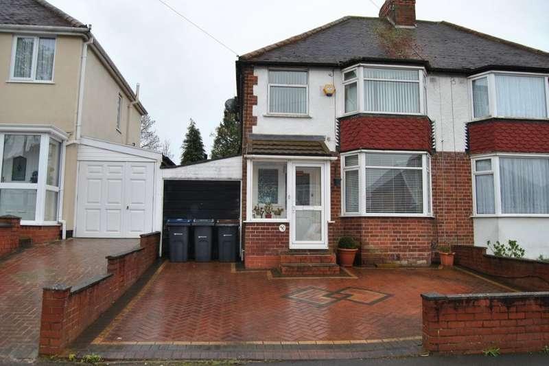 3 Bedrooms Semi Detached House for sale in Lockwood Road, Northfield, Birmingham, B31