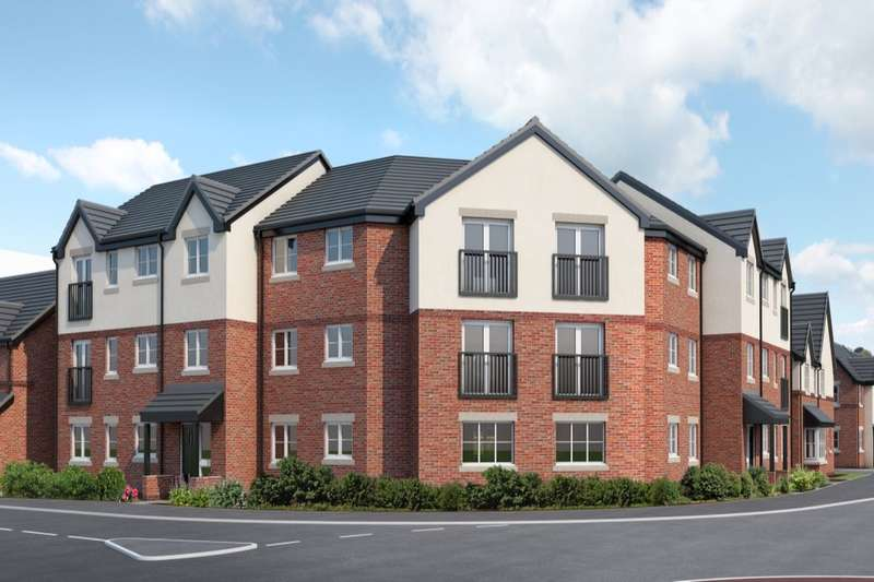 2 Bedrooms Flat for sale in Mere View, Helsby, Frodsham, WA6