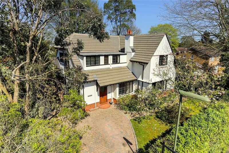 5 Bedrooms Detached House for sale in Ashwood Road, Woking, Surrey, GU22