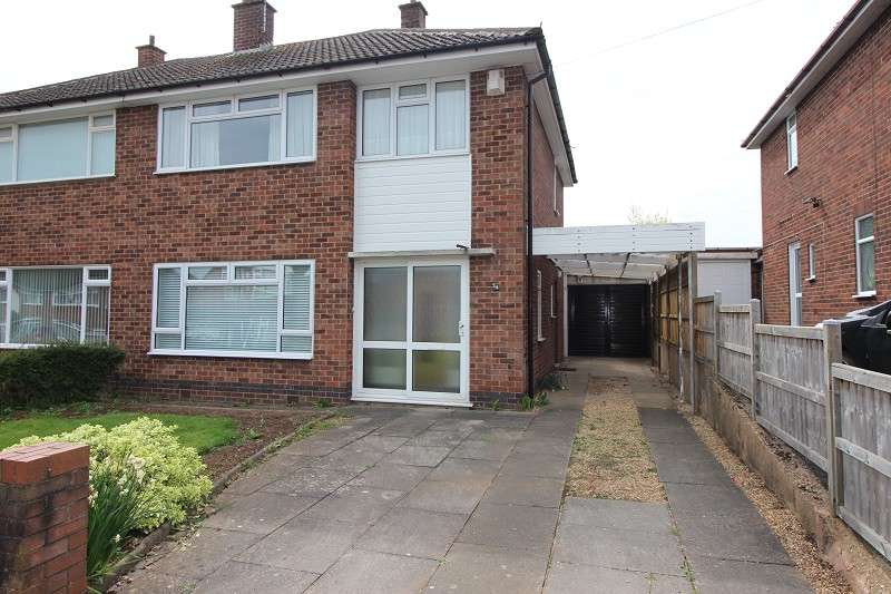 3 Bedrooms Semi Detached House for sale in Delaware Road, Styvechale, Coventry, CV3 6LX