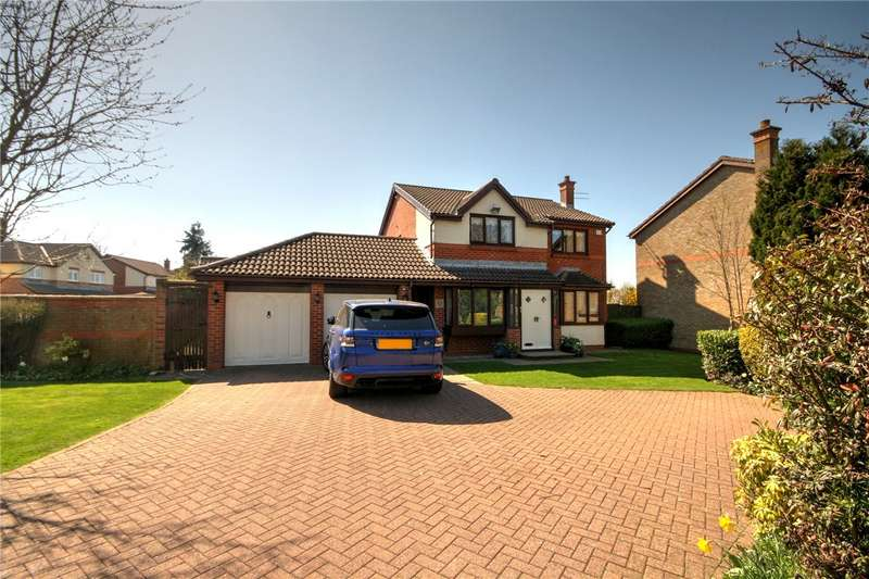 4 Bedrooms Detached House for sale in Whitworth Meadow, Spennymoor, County Durham, DL16