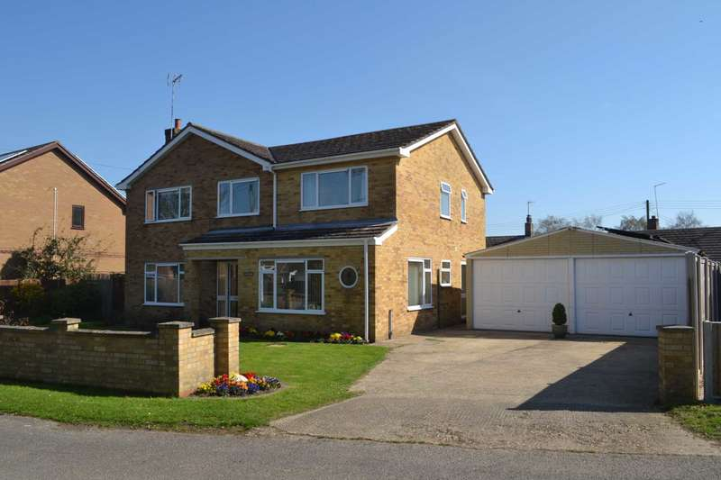 4 Bedrooms Detached House for sale in CROWN ROAD, CHRISTCHURCH, PE14 9NF