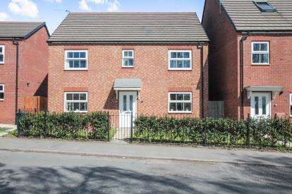 4 Bedrooms Detached House for sale in Bennetts Road, Keresley End, Coventry, Warwickshire