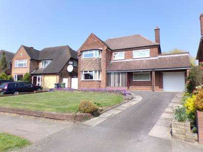 3 Bedrooms Detached House for sale in Lake Avenue, Walsall, .