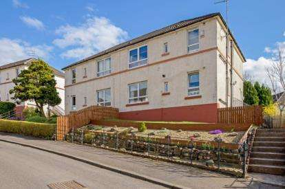 2 Bedrooms Flat for sale in Watson Avenue, Rutherglen, Glasgow, South Lanarkshire