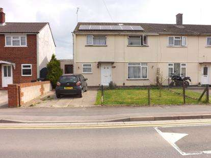 3 Bedrooms End Of Terrace House for sale in Cranmore Avenue, Park South, Swindon, Wiltshire