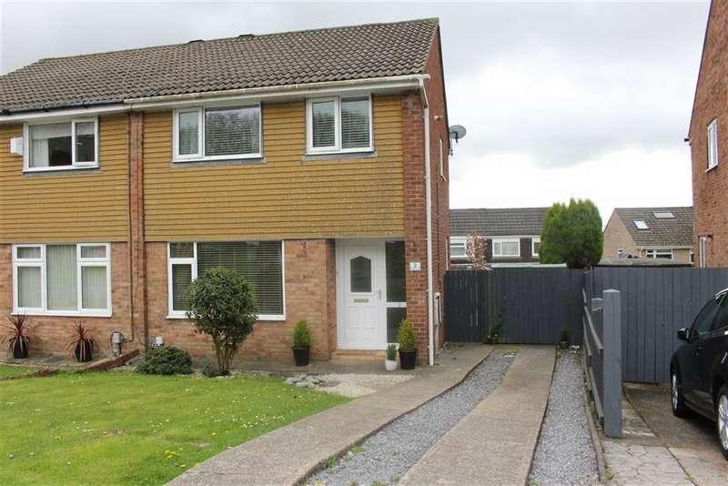 3 Bedrooms Semi Detached House for sale in Rhodfa'r Eos, Cwmrhydyceirw