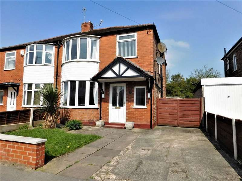 3 Bedrooms Semi Detached House for sale in Donnington Avenue, Cheadle, Stockport