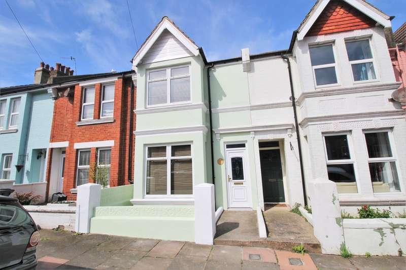 3 Bedrooms Terraced House for sale in Redvers Road, Brighton, BN2 4BF