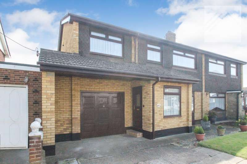 4 Bedrooms Semi Detached House for sale in Stanley Road - SPACE IN ABUNDANCE