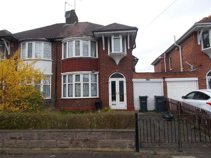 3 Bedrooms Semi Detached House for sale in Rymond Road, Hodge Hill, Birmingham B34