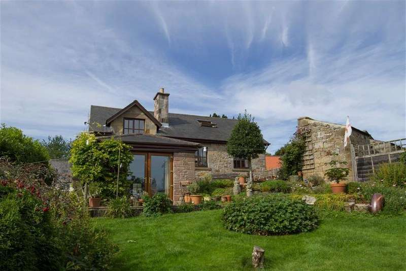 4 Bedrooms Detached House for sale in Church Hill, Chatton, Northumberland, NE66