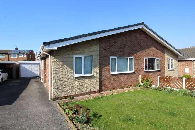 2 Bedrooms Semi Detached Bungalow for sale in Fairway Drive, Normanton