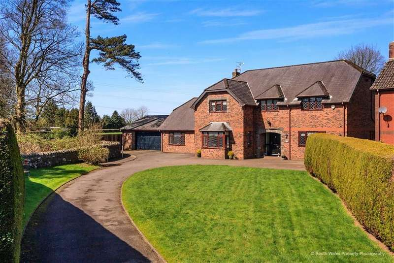 5 Bedrooms Detached House for sale in St Anne's Court, Talygarn, Pontyclun