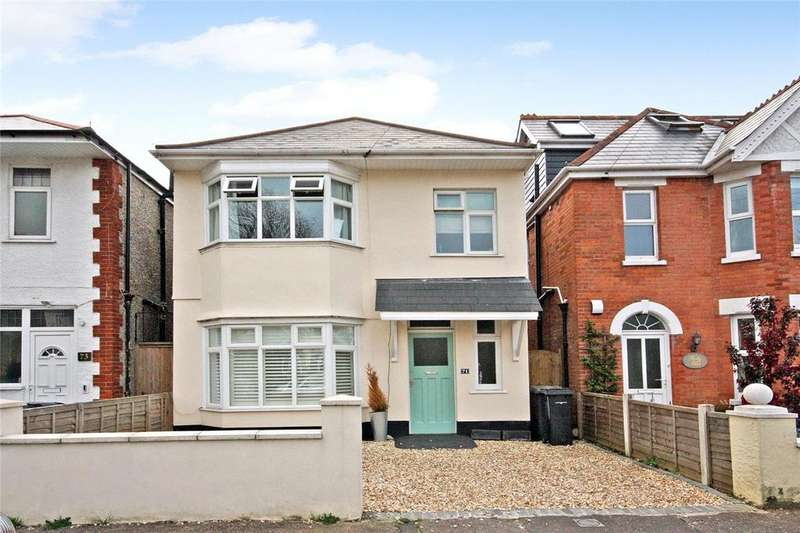 3 Bedrooms Detached House for sale in Castlemain Avenue, Bournemouth, Dorset, BH6