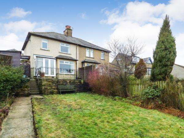 3 Bedrooms Semi Detached House for sale in 1 Bank Road, Cross Hills BD20 8AA