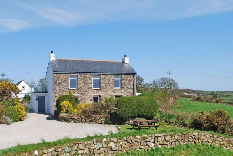 4 Bedrooms Detached House for sale in Menagissey, Mount Hawke, Nr. Truro, Cornwall, TR4